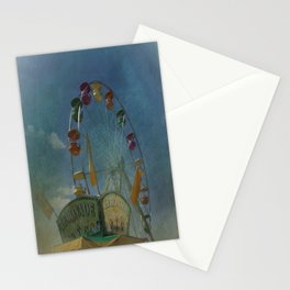 Textured Ferris Wheel Stationery Cards