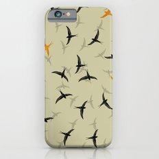 spiral birds iPhone 6s Slim Case
