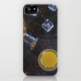 Tequila Sunrise Recipe iPhone Case