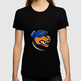 Rottweiler Dog Mascot T-shirt