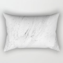 Marble Texture Wall Art - Minimalist Lifestyle Rectangular Pillow