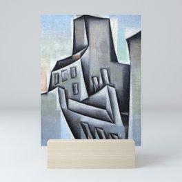 """Juan Gris """"Maisons à Paris (Houses in Paris)"""" Mini Art Print"""