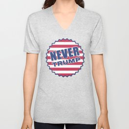 Never Trump (2) Unisex V-Neck