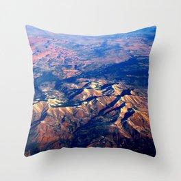 Rocky Mountains Throw Pillow