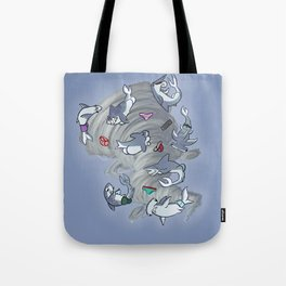 Sharkbuttnado Tote Bag