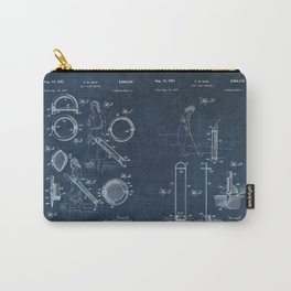 golf club carier WICK patent art Carry-All Pouch