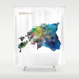 Estonia Shower Curtain
