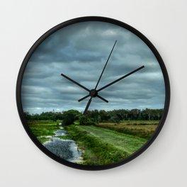 Everglades Vista Wall Clock