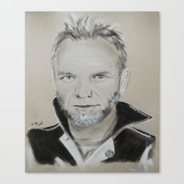 Sting Canvas Print