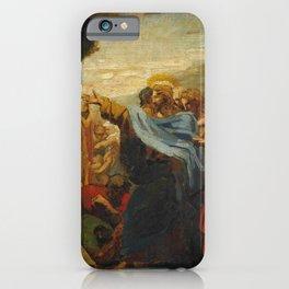 """Théodore Géricault """"La Résurrection de Lazare"""" iPhone Case"""