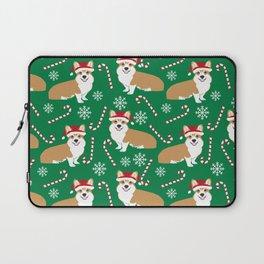 Corgi christmas welsh holiday gift for dog breed dog person corgi lovers christmas gifts Laptop Sleeve
