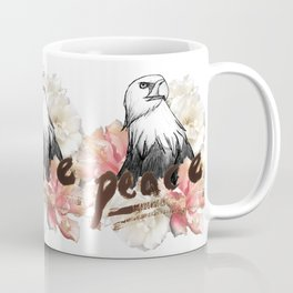Peace Wreath Coffee Mug