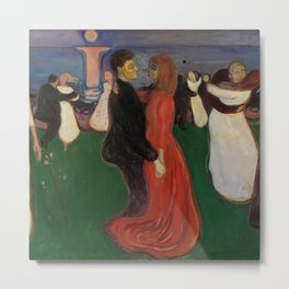 "Edvard Munch ""The Dance of Life"", 1899–1900 Metal Print"