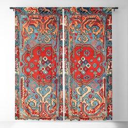 Zeikhur Kuba East Caucasus Rug Print Blackout Curtain