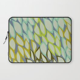 Falling into Blue Leaves Laptop Sleeve