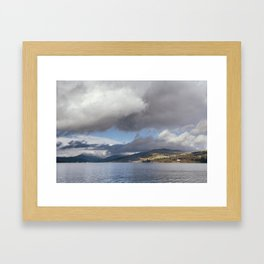 Balla Wray on Lake Windermere. Cumbria, UK. Framed Art Print