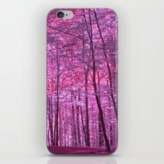 purple forest V iPhone & iPod Skin