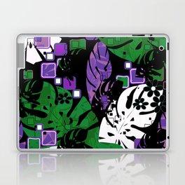 Tropical pattern #tropics #monstera #monstera leaves #leaves Laptop & iPad Skin