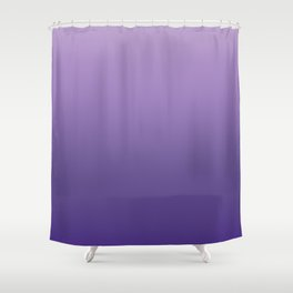 Ultra Violet Gradient Pattern | Pantone Trendy Color of the year 2018 Shower Curtain