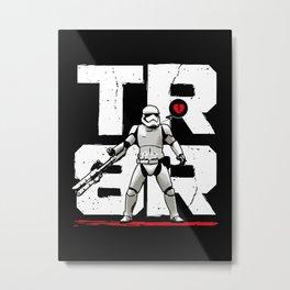 TR8R Stormtrooper Metal Print