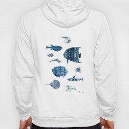 Shibori Sea Hoody