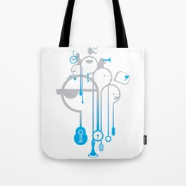A Rainy Day Tote Bag