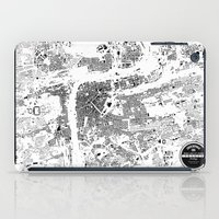 prague iPad Cases featuring PRAGUE by Maps Factory