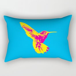 CMY Bird Rectangular Pillow