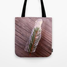 Green in Ice Tote Bag