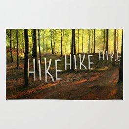 Hike Hike Hike Rug