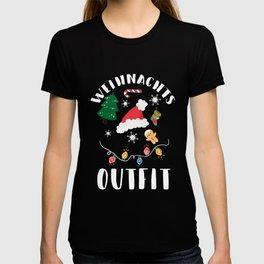 Christmas outfit Christmas costume Santa Claus T-shirt