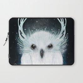 the white owl Laptop Sleeve