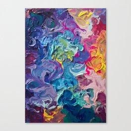 Aurora Swirls Canvas Print