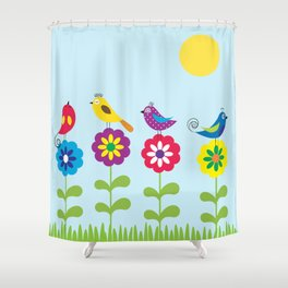 singers Shower Curtain