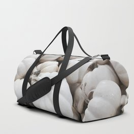 White Autumn Duffle Bag