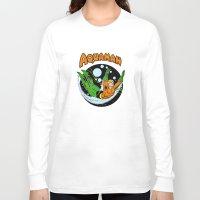 aquaman Long Sleeve T-shirts featuring aquaman by Craig Bostick