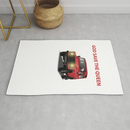 God save the queen  Rug