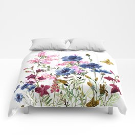 Wildflowers IV Comforters