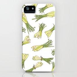 Lemongrass iPhone Case