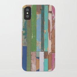 Maui Fence Hawaii Colorful Art iPhone Case