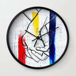 Primary Love Wall Clock