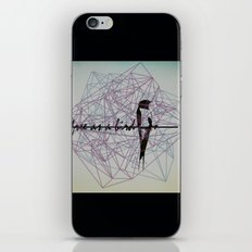 free as a bird iPhone & iPod Skin