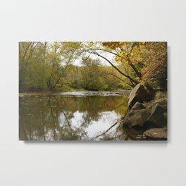 Autumn Creek Metal Print