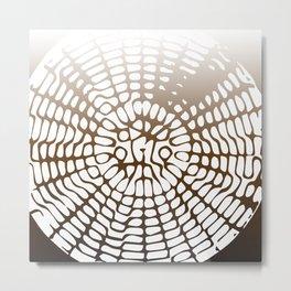 Earth Cymatics Metal Print