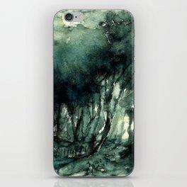 mürekkeple orman iPhone Skin