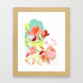 spring magnolia Framed Art Print