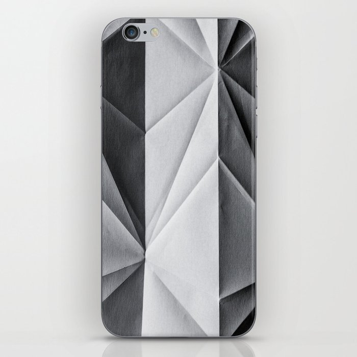 Folded Paper 1 iPhone Skin