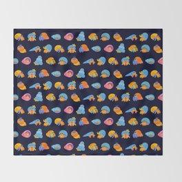 Hermit Crab Throw Blanket