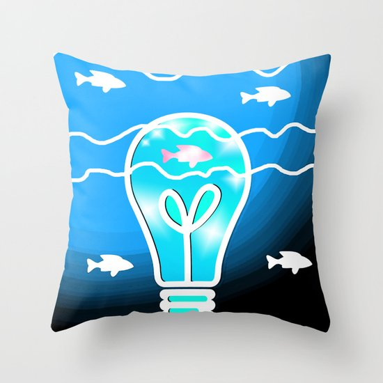 Shine the Way Throw Pillow