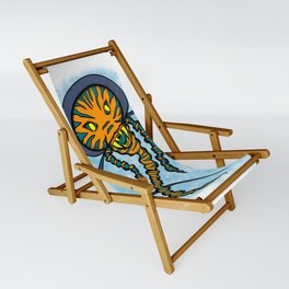 The Caped Jelly Sling Chair